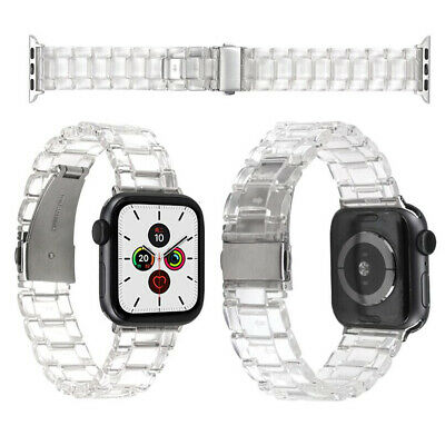 Resin wrist Strap Bracelet for Apple Watch Series 5 4 3 2 1 iWatch Band 38-44mm