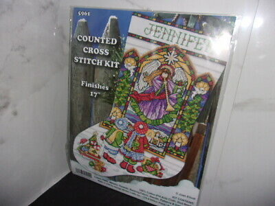 Design Works Stained Glass Easter Window Ornaments Counted Cross-Stitch Kit