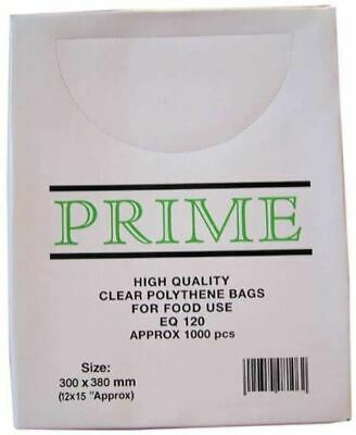 Smith & Bateson Clear Poly Weighout Bags (1000 Pack) 12x15 inch Sundries BN