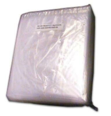 Kingfisher Clear Poly Weight Out Bag (1000 Pack) 8x10 inch (120g) Sundries Bags