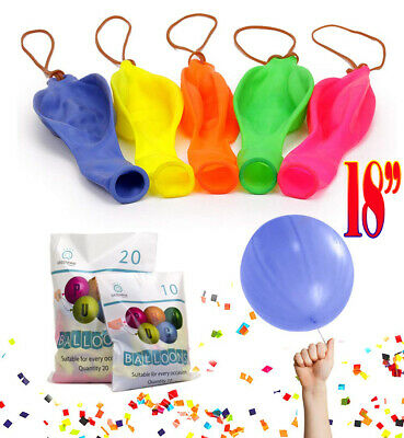 18/'/' Inch LARGE PUNCH BALLOONS BOUNCY BOYS GIRLS TOY ACTIVITY BIRTHDAY PARTY UK