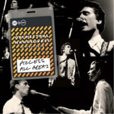 OMD-Orchestral Manoeuvres In The Dark - Access All Areas (Cd+Dvd CD with DVD NEW