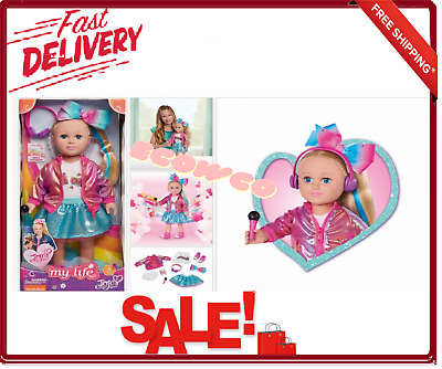 My Life as JoJo Siwa Girl /& Doll Necklace Wholesale  RESALE  Lot of 4 sets of 4