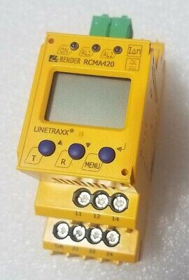 RCM470LY-13A BENDER RESIDUAL CURRENT MONITOR