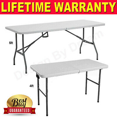 Aluminum Portable Adjustable Folding Table Camping Outdoor Picnic Party BBQ 5FT