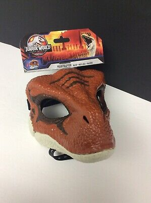 JURASSIC WORLD PARK VELOCIRAPTOR LEGACY COLLECTION MASK MOVEABLE JAW BRAND NEW!