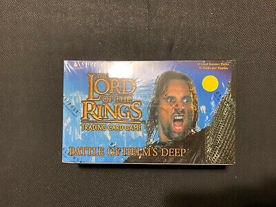 LORD OF THE RINGS BATTLE OF HELM/'S DEEP TRADING CARD GAME BOOSTER 36 PACK BOX