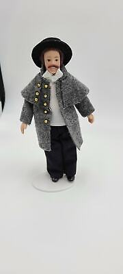 Dollhouse Miniature 1:12 Scale Victorian Dollhouse Lawrence Doll