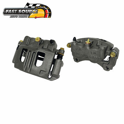 For 2005 2006 Chevy Equinox Pontiac Torrent Front OE Brake Calipers