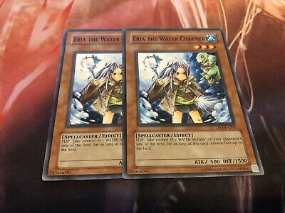 Yugioh Eria the Water Charmer TLM-EN027 NM//MINT Common 3X 1st Edition