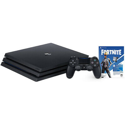 PlayStation 4 Pro 1TB Console Black + Fortnite Neo Versa