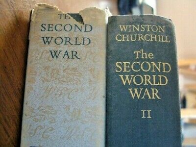 The Second World War Winston Churchill  Volumes 2 & 3  by Cassell