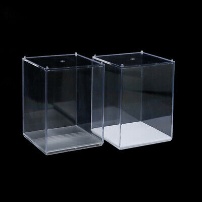 1 Clear Acrylic Display Box Dustproof Case for Kids Model Doll Toys Display Cube