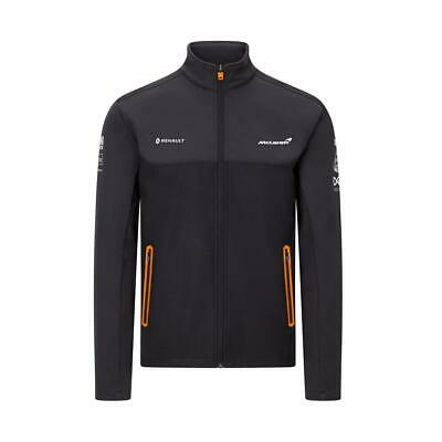 McLaren 2020 F1 Team Soft Shell Jacket in Grey