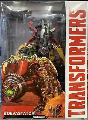 HASBRO TRANSFORM MAN DEVASTATOR COMBINE 7ROBOT TRUCK CAR MODEL ACTION FIGURES