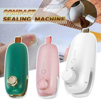 Mini Electric Heat Sealing Machine Ceramic Impulse Vacuum Capper Bag Sealer Q1K3