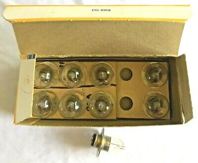 Carton Of 10 GE BRS Sound Reproducer Exciter Bulbs New Old Stock