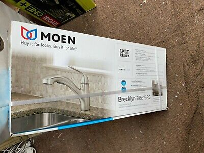 Moen Brecklyn Single Handle 6 Spray Tub And Shower Faucet 82611srn Brand New 109 99 Picclick