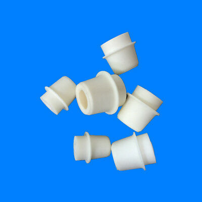 Silicone Bung Rubber Stopper With Hole For Airlock Valve Bubbler Wine Brew MP