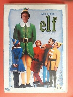 Elf With Will Ferrell 2 Disc Dvd