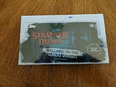 Topps Stranger Things Welcome to The Upside Down Hobby Box 2019 Trading Cards