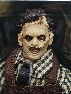 Wave 8 IN STOCK! Mego 8 inch Action Figure Leatherface Horror Series