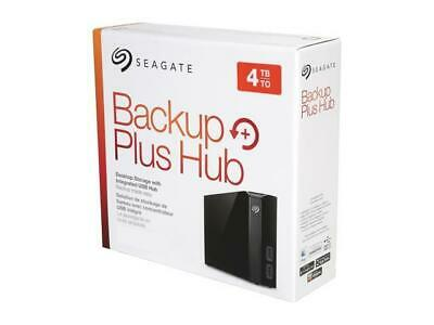 Seagate Backup Plus Hub 4TB 2 x USB 3.0 Desktop External Hard Drive STEL4000100
