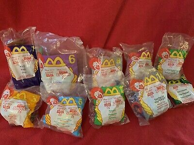 Disney/Pixar Toy Story 2 McDonald's Happy Meal Lot Of 10 1999 New In Bags