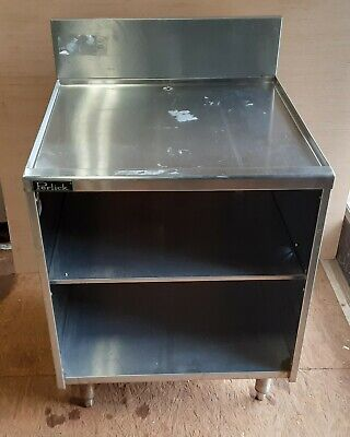 """Perlick 7057-2 24"""" Glass Handling Cabinet with Storage"""