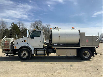 2009 Sterling L8500 Vactor F8020 Sewer Jetter Truck