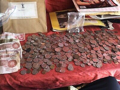 Vintage Bank of England 10 shilling notes Coins Job Lot  Bundle