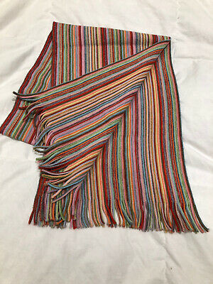 Mens Austin Reed Multicolour Striped Scarf 5 00 Picclick Uk