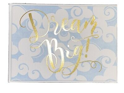 """$15 Retail Dominique for Papyrus 4"""" x 5.5"""" Dream It 2 Notecards by XOXO"""