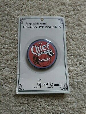 RARE DISCONTINUED Ande Rooney Fine Porcelain Enameled Steel Collectible Magnet