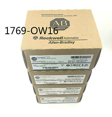 New Factory Sealed AB 1769-OW16 A CompactLogix 16Pt D//O Relay Module 1769OW16