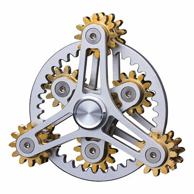 EDC Sprockets Chains Decompression Fingertips Spinning Top Gearwheel Gyro Toy