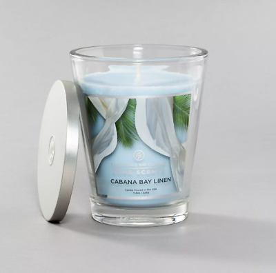 1 Chesapeake Bay Candle Home ALMOND MACAROONS Large Glass Jar Candle 19 oz