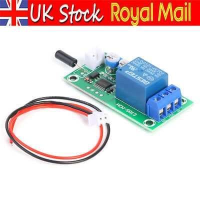 DC 12V Adjustable Timer Delay Turn OFF Module Timing Relay Time  Reliable