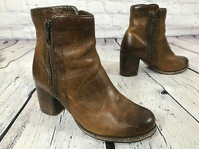 New in Box FRYE Womens Addie Double Zip Boots Smoke SIZE 9.5 MSRP $358 76612