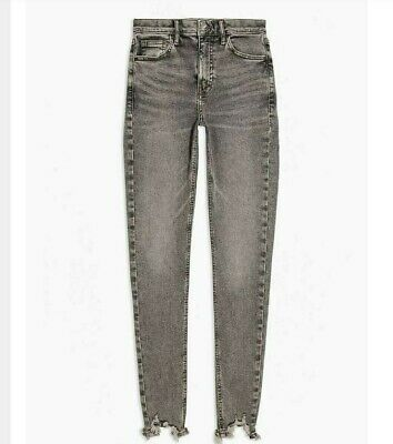 Topshop JAMIE HIGH WAIST ANKLE GRAZER JEANS ALL SIZES RRP £40 bnwt sale price