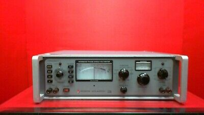 North Atlantic 321A Phase Angle Voltmeter