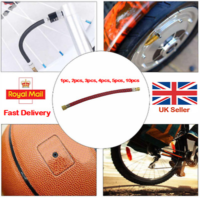Bike Tyre Air Pump Inflator Replacement Extension Hose For Schrader Valve S7V0