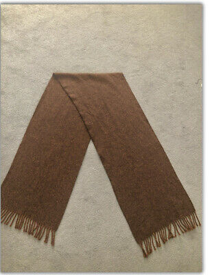 Austin Reed Mens 100 Lambswool Brown Speckled Marl Cottagecore Scarf Pure Wool 11 90 Picclick Uk