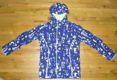 Pomegranate//Blue Under Armour Girls/' ColdGear Infrared Micro G Jacket Youth M