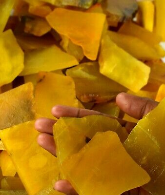 Natural Yellow Sapphire 3000 Ct Madagascar Collector/'s Gemstone Slab Rough Lot