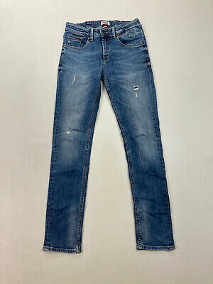 TOMMY HILFIGER SCANTON SLIM Jeans - W28 L30 - Blue - Great Condition - Boy's