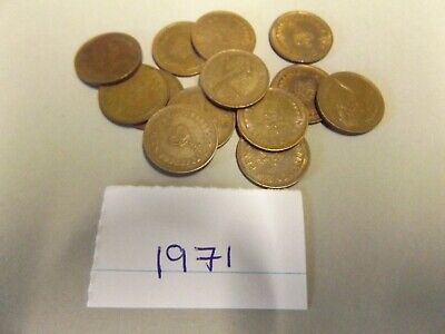 1971-1982 Uk Gb Decimal Old 1/2P Half Penny Pence Coins - Select Dates From List