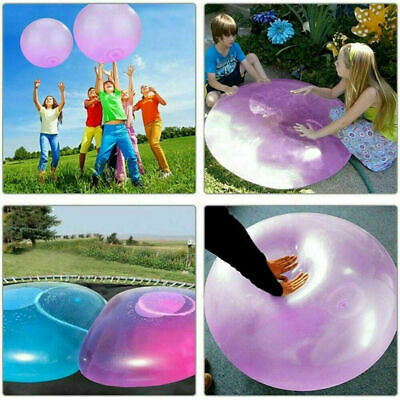 40//120cm Inflatable Wubble Bubble Ball Balloon Stretch Outdoor Beach Kids Toy UK