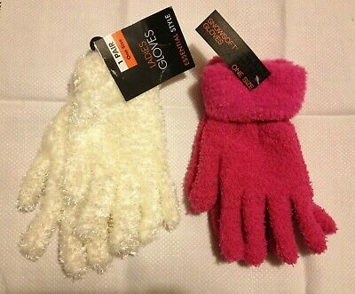 NEW LADIES//GIRLS THERMAL SNOWSOFT MAGIC WINTER GLOVES ONE SIZE FIT ALL