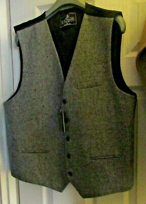 Boys Waistcoat Woven Swirl Patterned Formal Casual Wedding Tuxedo Vest by DQT